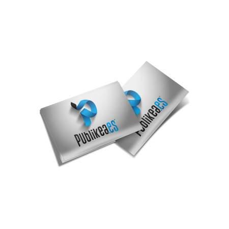 imprimir tarjetas de visita pvc tamaño estandar