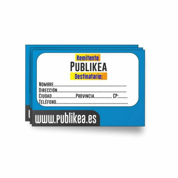 Etiquetas adhesivas personalizadas para e-commerce