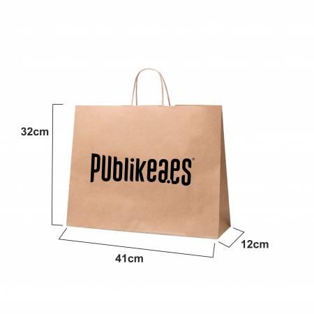 Bolsas de papel impresas con logotipo