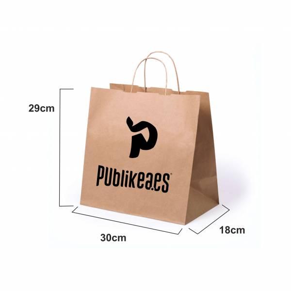 Impresión de bolsas en papel kraft personalizadas